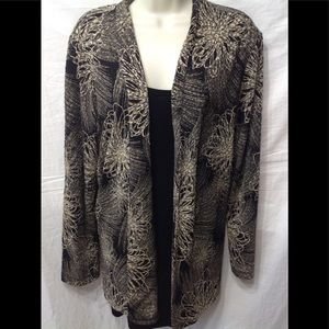 Women's size 1X JM COLLECTION blouse